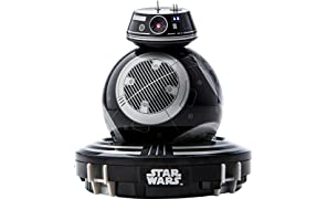 Sphero BB-9E App-Enabled Droid Gadget - Star Wars Droid App - Droid Trainer - Bluetooth - Recharging Base (Black)