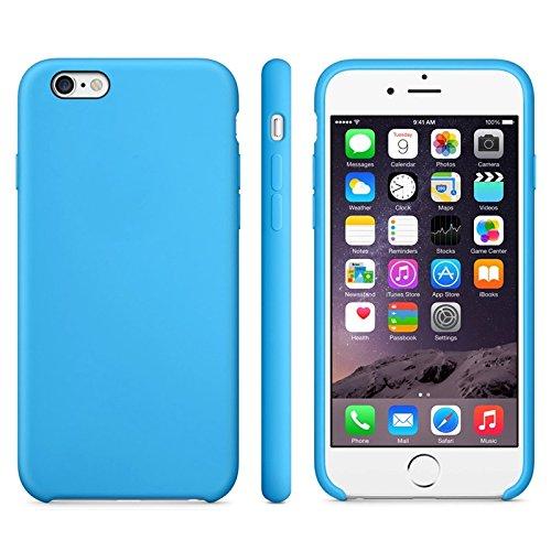 Phone case & Hülle Für iPhone 6 Plus / 6S Plus, Anti-Rutsch mattiert TPU Fall ( Color : White ) Blue