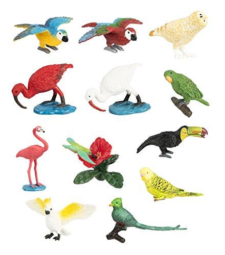 Safari Bulk Taschen–Exotische Vögel 48Teile