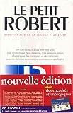 Le Petit Robert de la langue française 2003