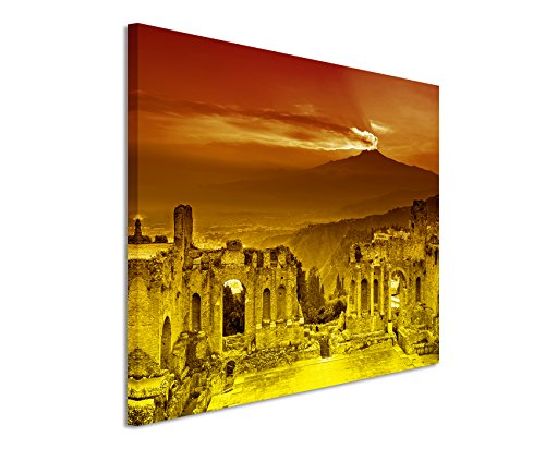 120-x-80-cm-wall-painting-orange-yellow-canvas-art-print-on-stretcher-frame-best-quality-ruins-flavi