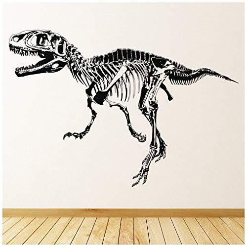 t Wandtattoo Jura-Dinosaurier Wand Sticker Kinder Schlafzimmer Haus   Dekor verfügbar in 5 Größen und 25 Farben X-Groß Schwarz ()