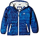 BILLABONG Jungen Jacke Escape Puffer Boys, Smoke Blue, 12