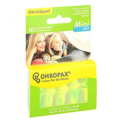 Para los oídos más pequeños - Tapones para los oídos Ohropax Mini Soft...