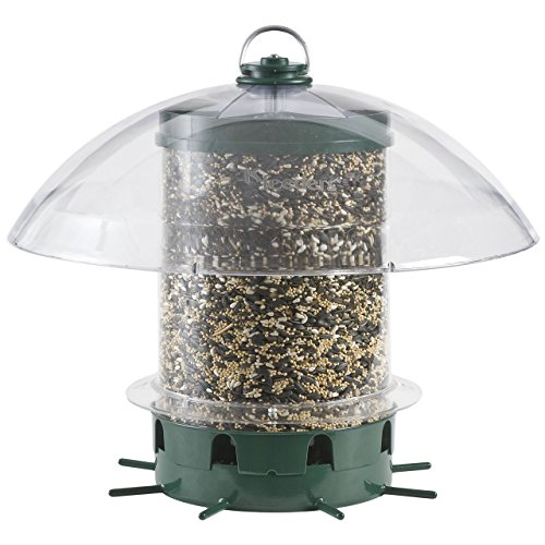 Perky-Pet Vogelfutterspender Superkarussel für Wildvögel Füllkapazität, 3.6 kg, Mod. K-351 -