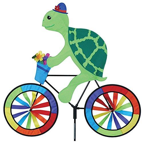 Tortue Turtle Spinner. sur une coupe-vent pour jardin Moulin à vent