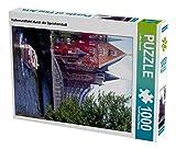 Hafenrundfahrt durch die Speicherstadt 1000 Teile Puzzle hoch (CALVENDO Orte)