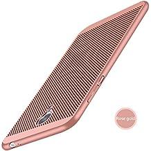 Funda MEIZU M3 NOTE,Alta Calidad Ultra Slim Anti-Rasguño y Resistente Huellas Dactilares Totalmente Protectora Caso de Plástico Duro Case,Cuadrícula Disipación de calor Antideslizante Cover(YQ6-1)