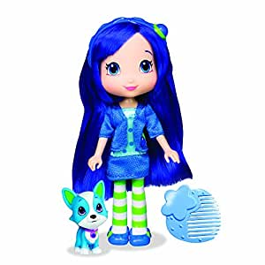 The Bridge Direct, Strawberry Shortcake, Berry Best Friend Doll, Blueberry Muffin and Scouty, 6 Inches by Strawberry Shortcake