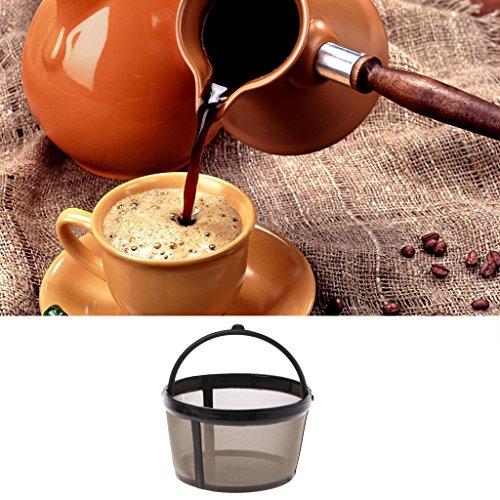 Kleiner Ersatz-Kaffeefilter Wiederverwendbares Nachfüllbares Korb-Schalen-Brauer-Werkzeug