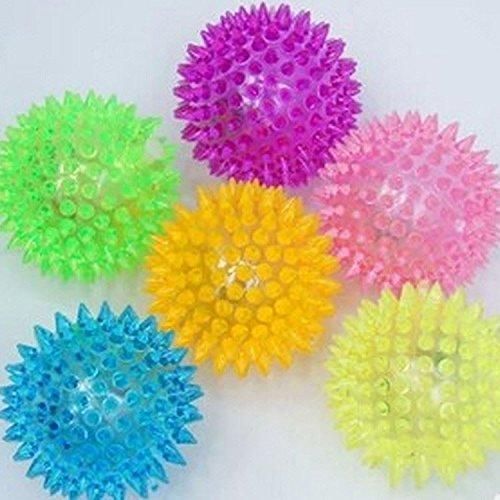 Gifts 4 All Occasions Limited SHATCHI-970 - Juego de 12 bolas con luz LED intermitente