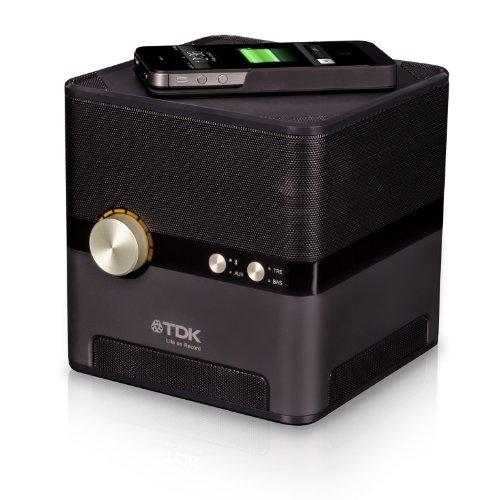 TDK Q35 - Altavoces de 2 W (Bluetooth, 3.5 mm), Negro