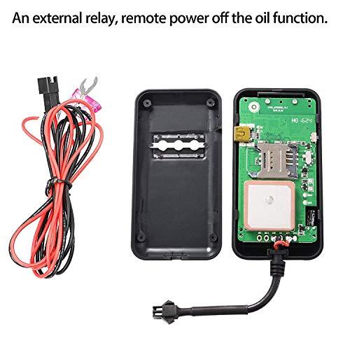 51EQGJUPlEL - Hangang Localizador de GPS, Vehículo de La Motocicleta del Carro del Coche Localizador de GPS Localizador de GPS en Tiempo Real Mini GPRS GPS Registrador de GPS con La Aplicación Gratuita