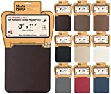 MastaPlasta Self-Adhesive Leather Repair Patch. New XL 28cmx20cm. Choose colour. First-aid for sofas, car seats. Fix holes, rips, burns, stains