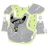 O'Neal Ersatz Sticker PXR Stone Shield Protektoren Ersatzteil Motocross Enduro MX Panzer Aufkleber, 0734-91, Farbe Gelb