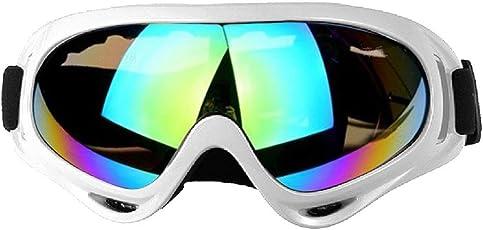 Lunettes de ski en plein air Motoneige Lunettes de snowboard Lunettes Lunettes de soleil Lunettes anti-buée Protection UV Lunettes de moto avec UV 400 Protection, coupe-vent, anti-éblouissement
