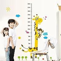 B-Comrade(TM) Giraffe Height Stickers Kids Growth Chart Height Measure Stickers