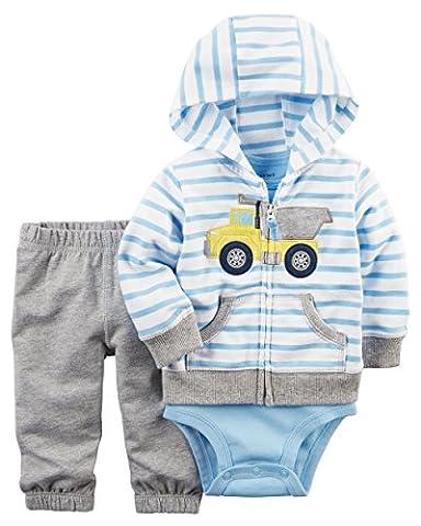 Carter's Baby Boys / Pantalons 3 pates / pantalons / Ensemble Bodysuit pour tout-petits(9 mois)