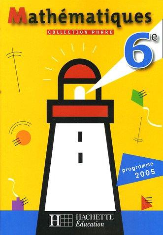 Mathématiques 6e : Programme 2005