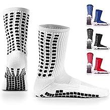 LUX Antideslizante Calcetines De Fútbol, antideslizante calcetines de deporte, almohadillas de goma, Trusox/tocksox Style, Top Calidad, Baloncesto, Fútbol, ...