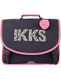 Cartable 38 Noir IKKS Rock