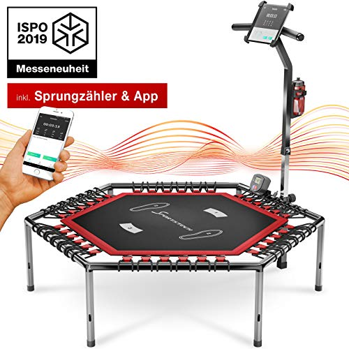 Smart Fitness Trampolin mit APP