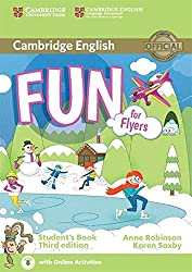 Fun for Flyers Student's Book with Audio with Online Activities.