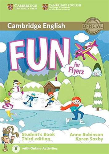 fun-for-flyers-students-book-with-audio-con-e-book-con-espansione-online-per-la-scuola-media