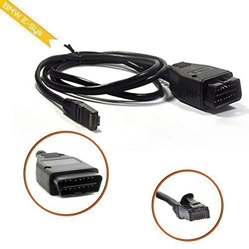 JCAsystems 10061S de SYS ENET Cable OBD, negro
