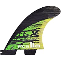 FCS II MB PC Carbon Medium Tri aletas de tablas de surf