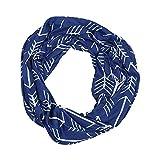 Schal,Sasstaids Unisex Liebhaber Winter Print Warm Loop Schal Reißverschluss Secret Pocket Schal Ring