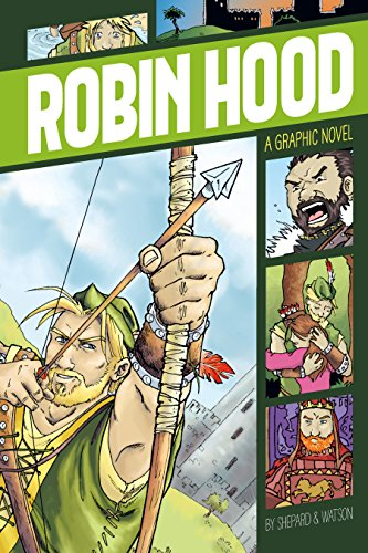 Robin Hood (Graphic Revolve: Common Core Editions) (English Edition)