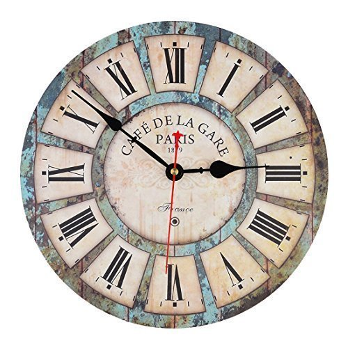 wall-clock-itechor-12-inch-vintage-france-paris-french-country-tuscan-style-roman-numeral-design-sil