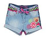 Desigual DENIM_MAESTRE-Shorts Bambina    Bleu (Denim Raw) 4 anni