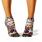 Wigglesteps Damen Sneaker-Socken - 024 Pop Art (1006-00609-502)