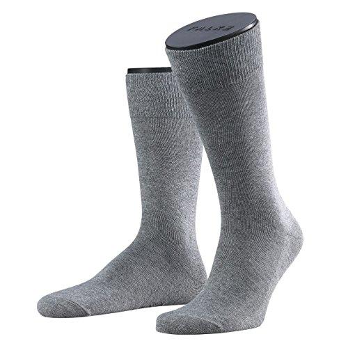 Preisvergleich Produktbild Falke Herren Socken Family 3er Pack,  Größe:47-50;Farbe:Light Grey Melange (3390)