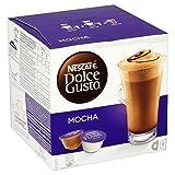 Nescafé Dolce Gusto Mocha, 16 Capsules - Pack of 3 (48...