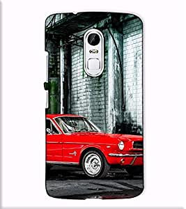 Fuson Designer Back Case Cover for Lenovo Vibe X3 (Luxury Car Building Bridge)
