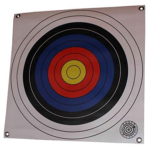 BOGENMICHEL Zielscheiben - Scheibenauflagen aus PVC 60x60cm mit 4 Scheiben (FITA, 60x60)