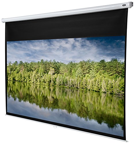 celexon manuell ausziehbare Rollo-Beamer-Leinwand Economy - 240 x 135 cm - 16:9 - Gain 1,0 - Full-HD und 4K