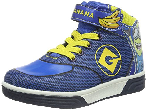 MINIONS Jungen Boys Kids Skate/Street High Sneakers Top Blau (NV/CB/CB/YEL 278)