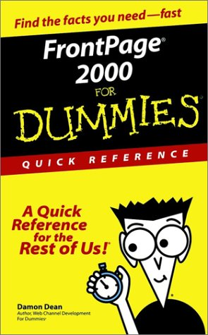 FrontPage 2000 for Dummies Quick Reference