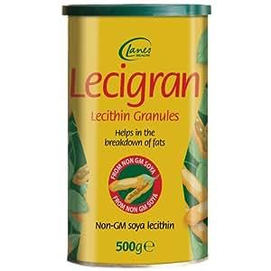 Lecigran Lecithin Granules GMO Free 500g