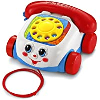 Fisher-Price - Teléfono carita divertida (Mattel)