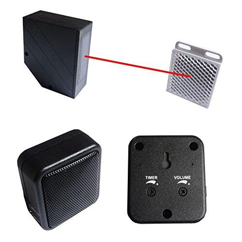 Preisvergleich Produktbild IR Infrarot Lichtschranke Version Pro mit Alarmgeber - Durchgang Melder