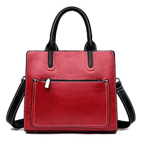 Frauen Taschen Handtaschen Frauen Taschen Designer Messenger Bags Für Frauen Handtasche Crossbody Schulter Top Griff Taschen Red - Europäischen Designer-linie