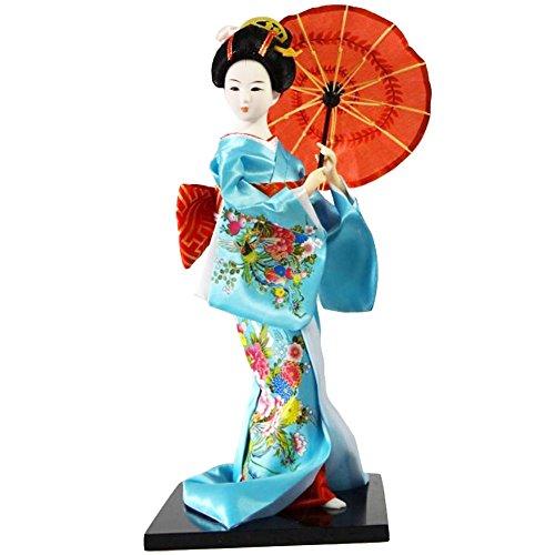 Traditionelle japanische schöne Kimono-Geisha /Maiko Puppe /Geschenke / Deko-A11