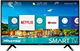 Hisense H32BE5500 - Smart TV 32' HD, 2 HDMI, 2 USB, Salida óptica y de Auriculares, WiFi, Audio DBX, Procesador Quad Core, Smart TV VIDAA U 2.5