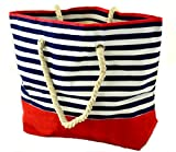 Marine-Strandtasche