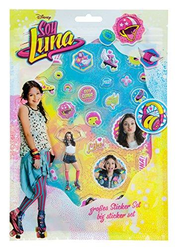 Undercover SORN7804 - Handtasche, Disney Soy Luna, ca. 33 x 23 x 10 cm Großes Sticker Set